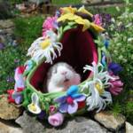 Fairy in her Flowery Bower (One off, no repeats)