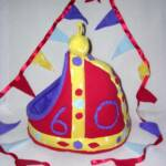 Queen's Diamond Jubilee Crown Crash Pad with matching Bunting (one off no repeats)
