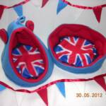 Union Jack Crash Pad with matching Piggy Bed & Bunting