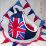 Union Jack Crash Pad with matching Bunting