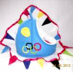 Olympic Games Crash Pad with matching Bunting (One off no repeats)