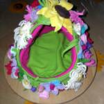 Fairy's Flowery Bower with removeable flowery cover. (One off- no repeats.)
